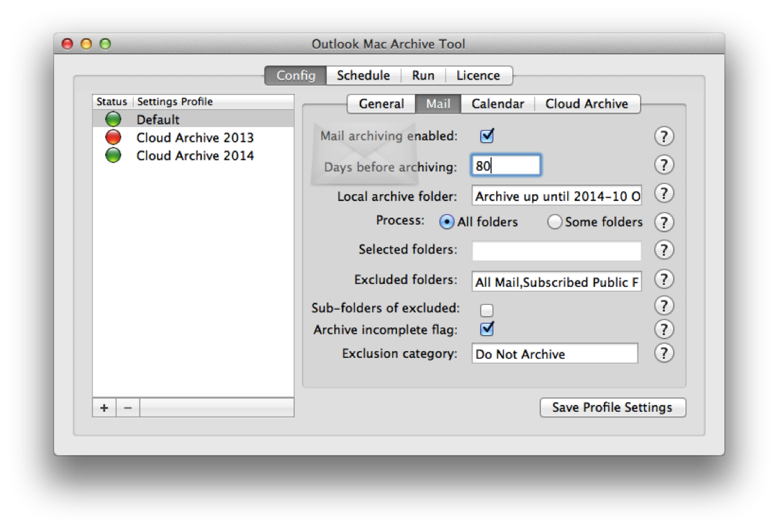 New Auto Archiving tool for Outlook Mac for Office 365 2016
