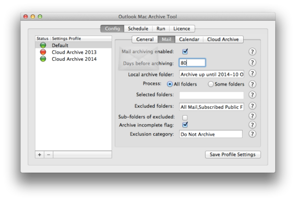 7thDomain Software | Outlook Mac Auto Achive Tool