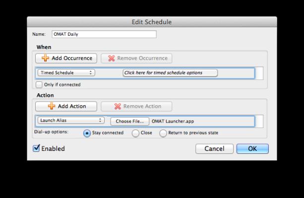 Outlook Schedule Select App